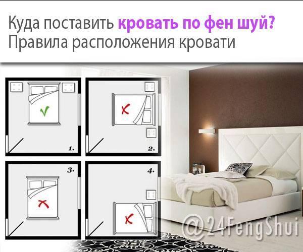 Кровать по фен-шуй: основы правильного расположения и лучшие примеры современных проектов (115 фото)