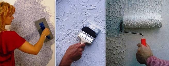 Как наносить жидкие обои на потолок - ремонт и дизайн