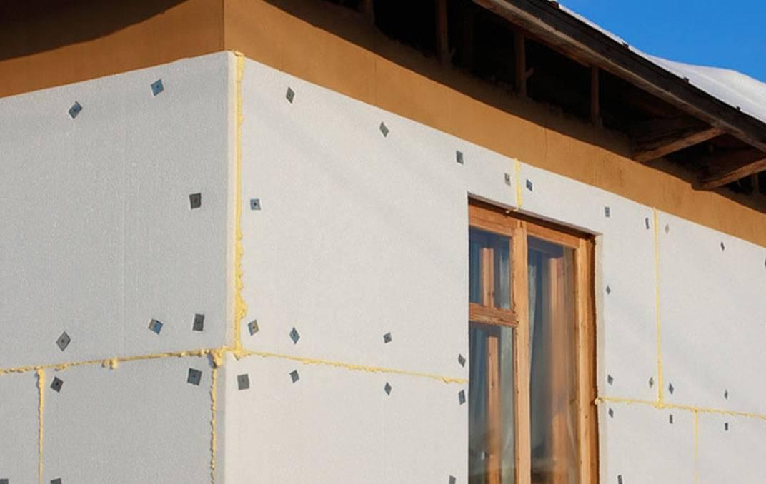 Проводим утепление пенопластом деревянного дома снаружи