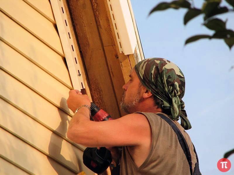 Как обшить фронтон профлистом – пошаговая инструкция