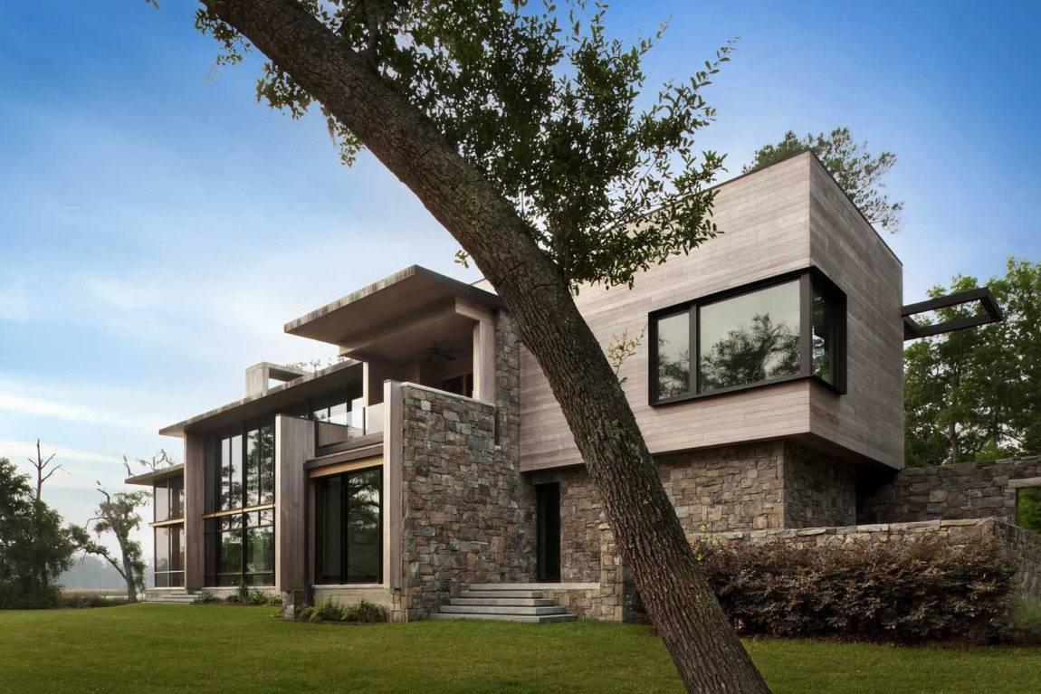 Дом из бетона и стекла. стеклянные дома с деревянным каркасом уютные дома с прозрачными стенами