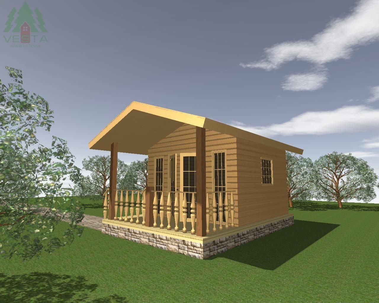 Загородные дома эконом-класса: выбор материала и варианты экономии