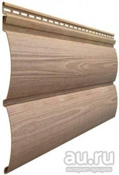 Блок хаус виниловый под бревно — инструкция к применению