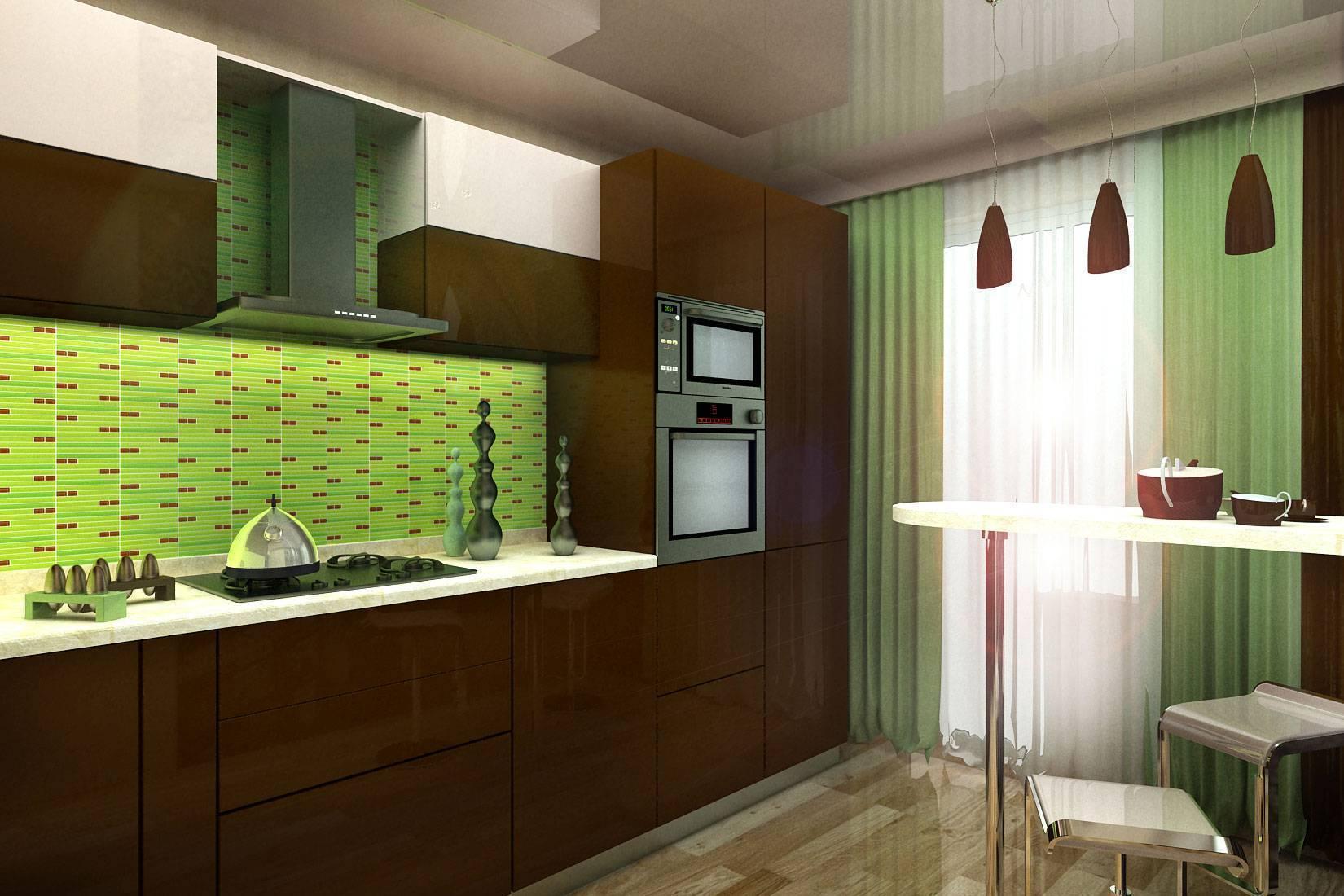 Зеленые обои: выбор и сочетание оттенков, подбор штор