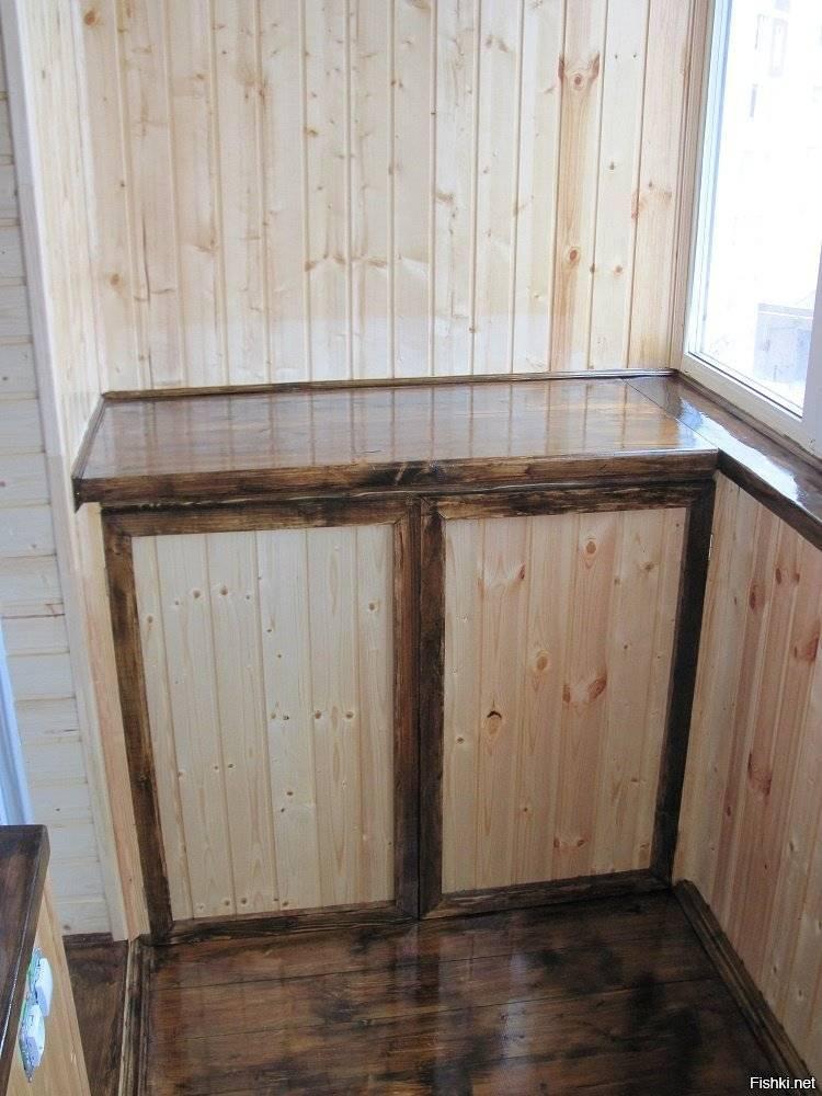 Обшивка балкона вагонкой своими руками: выбор материалов и инструкция по монтажу