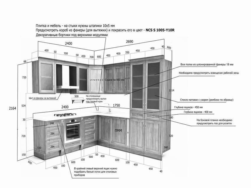 Как собрать кухонную мебель правильно
