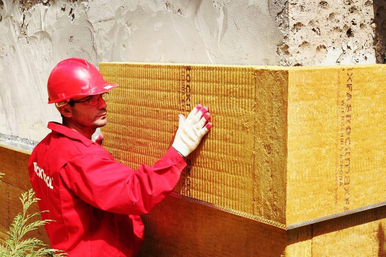 Правила утепления фасадов минеральной ватой