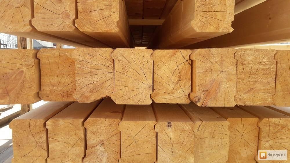 Клееный брус из лиственницы и кедра: профилированный дуб и сосна