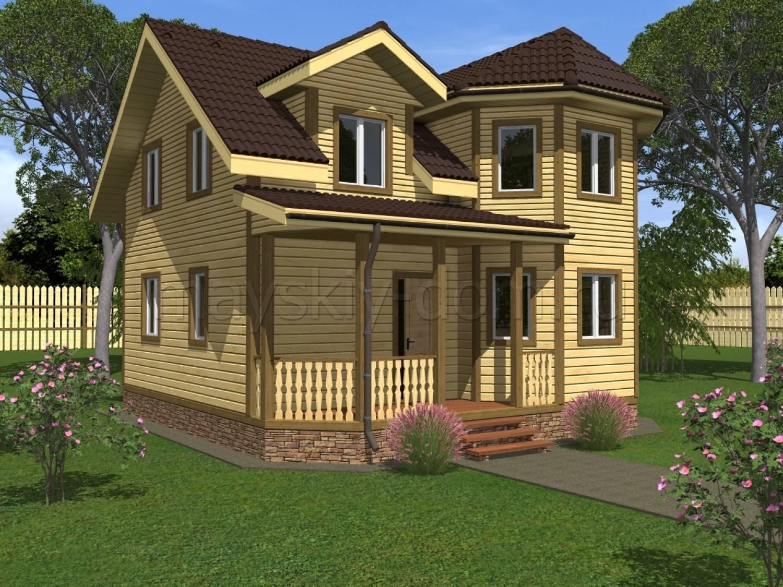 Дом с эркером: проектирование, постройка и подбор дизайна (90 фото)