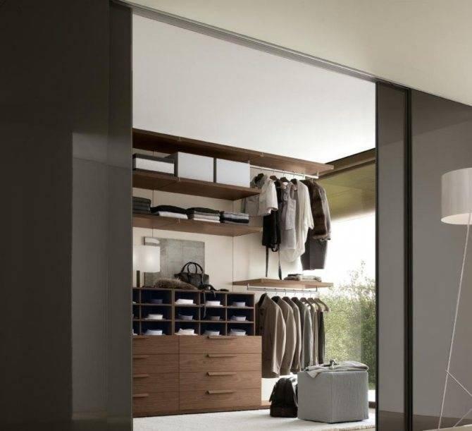 Как организовать гардеробную комнату: типы гардеробных и их функциональные возможности, освещение, дизайн, мебель и материалы изготовления +видео