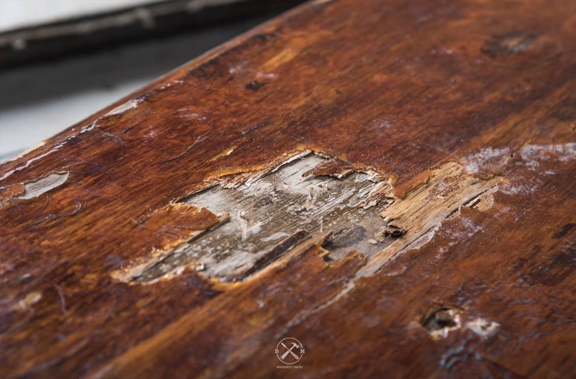 Ремонт шпона на мебели своими руками: полезная информация