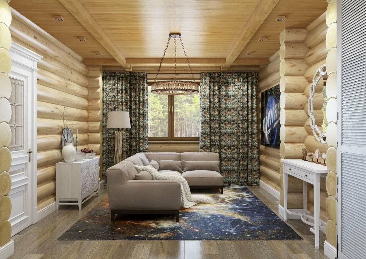 Создаем интерьер деревянного дома (129 фото): дизайн внутри и снаружи, мансарда и жилые комнаты, внутренняя отделка одноэтажных финских коттеджей