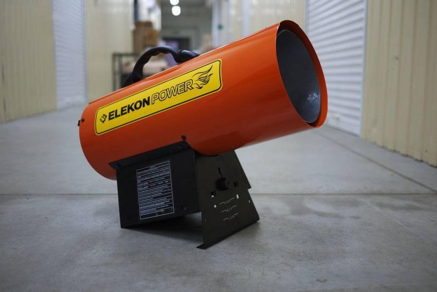 Тепловая пушка для натяжных потолков. разновидности оборудования