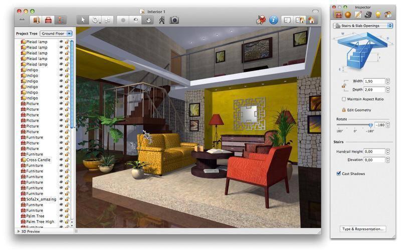 Программа 3d дизайна интерьера бесплатно, дизайн квартиры и комнаты онлайн.