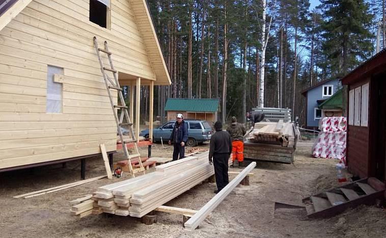 Каркасные дома для постоянного проживания, проекты и цены на строительство от компании realdom