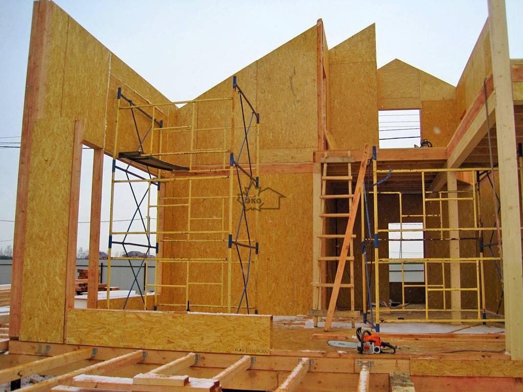 Дом из сип панелей своими руками (фото, видео)