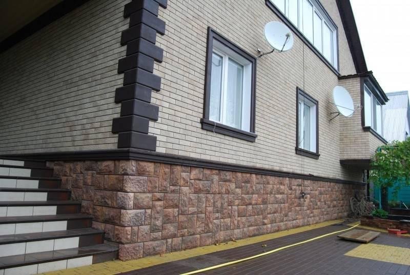 Фасад под кирпич: облицовка дома имитацией для наружной отделки