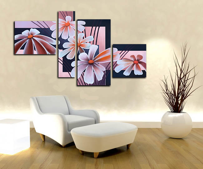 Как закрепить модульную картину на стене