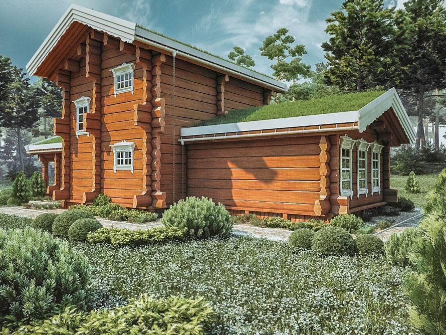 Преимущества дома из лафета по сравнению с кирпичным домом - строительный журнал palitrabazar.ru