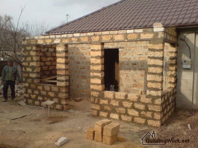 Строительство домов из ракушняка в севастополе и крыму