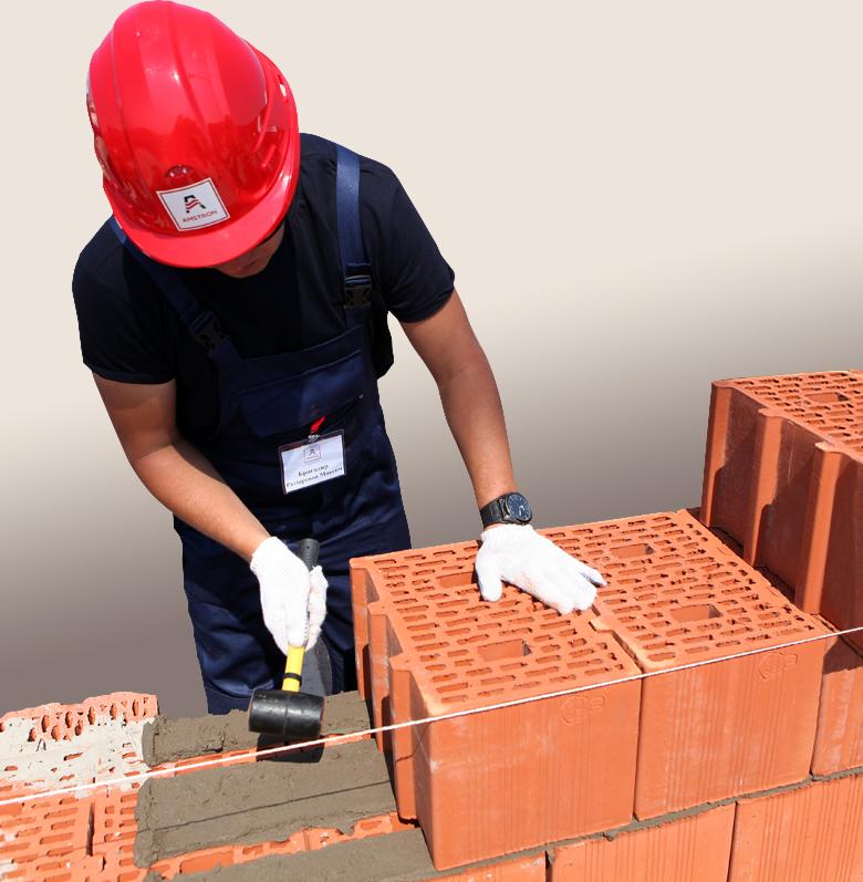 Как класть керамоблоки - монтаж керамоблока своими руками