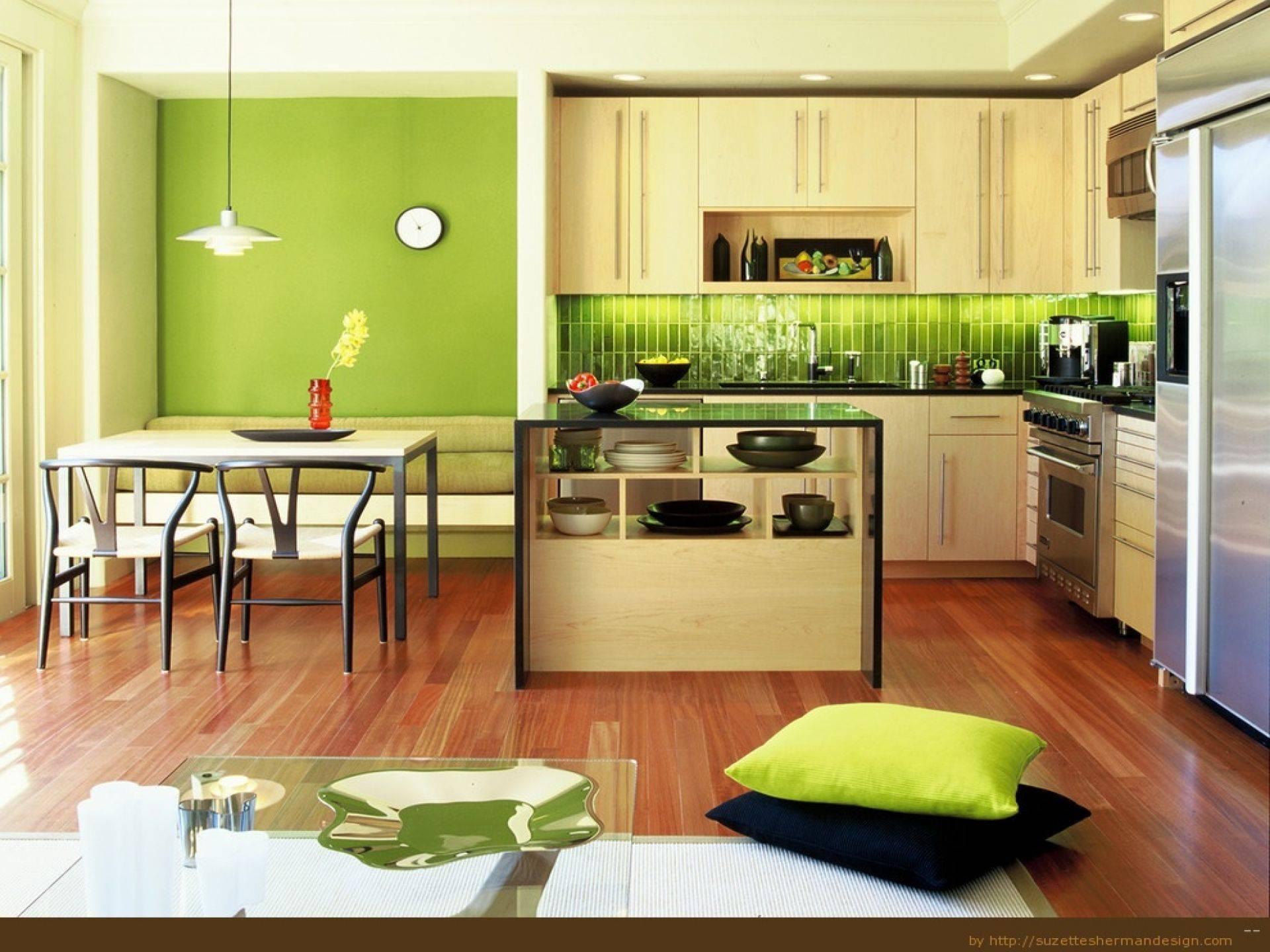 Цветовые решения для маленькой кухни (53 фото): светлые тона кухни в интерьере. особенности черно-белых и зеленых, серых, фиолетовых и других цветов в оформлении кухонь