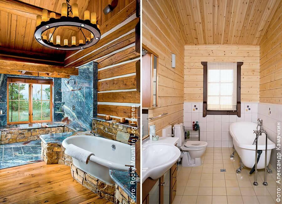 Пол в ванной в деревянном доме: устройство своими руками
