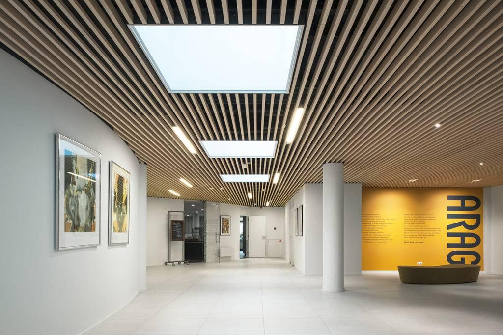 Стоимость и дизайн кубообразного реечного потолка