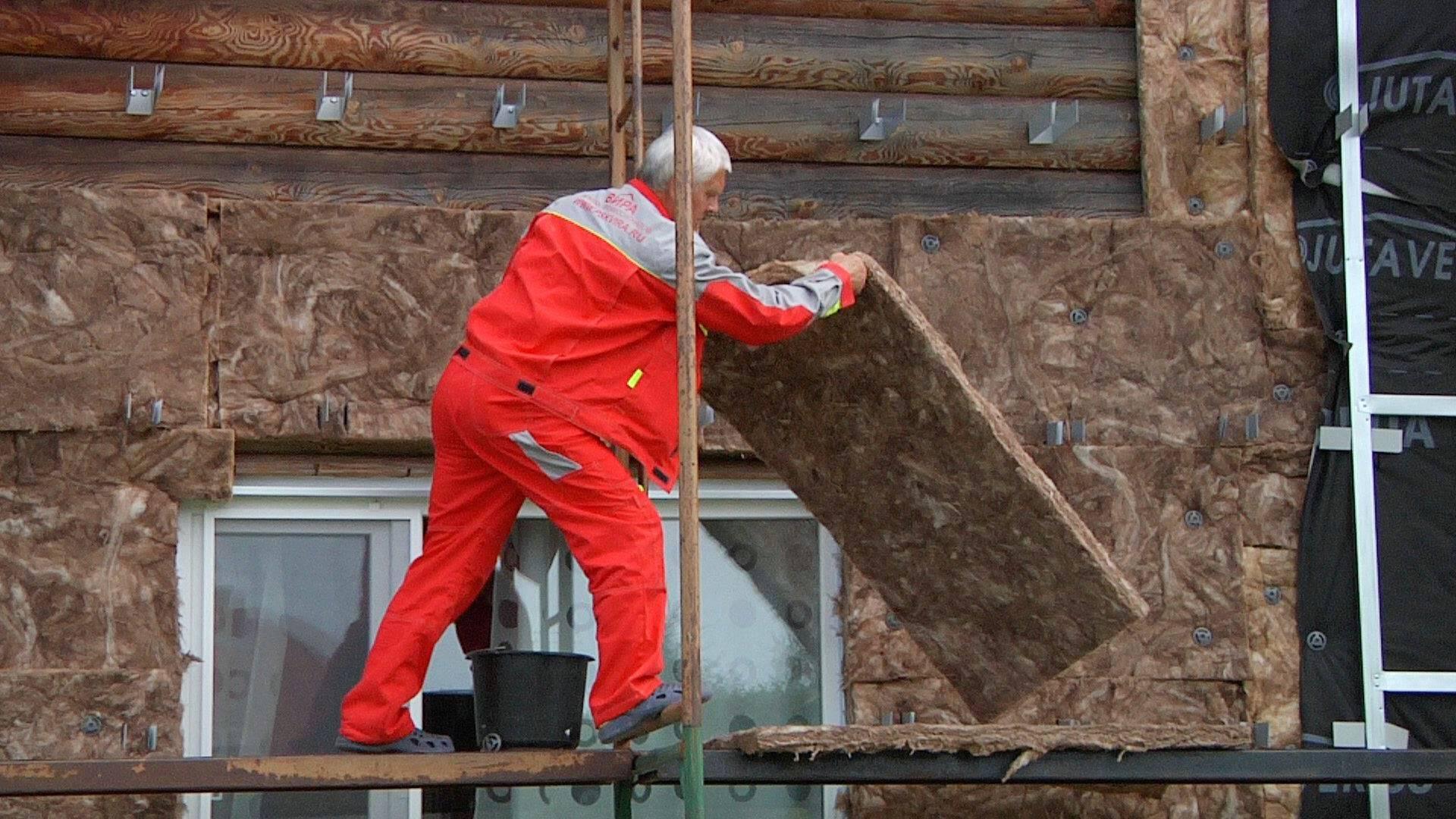 Как утеплить фасад минеральной ватой своими руками: подробно о технологии монтажа