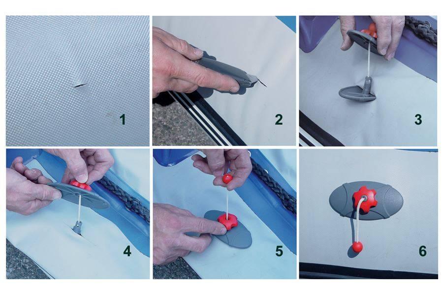 Как убрать дырку в натяжном потолке своими руками?