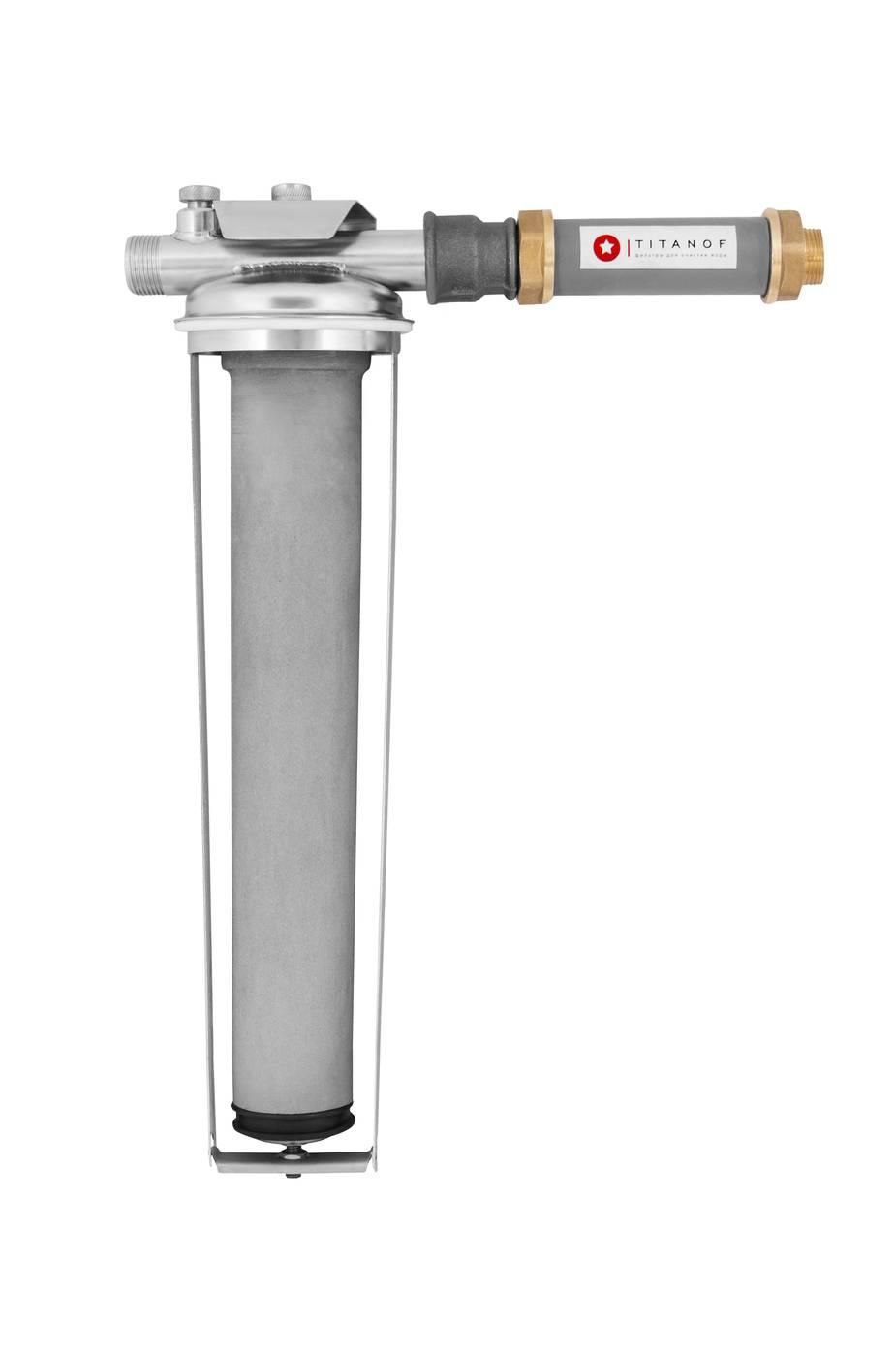 Титановый фильтр для воды: миф или реальность