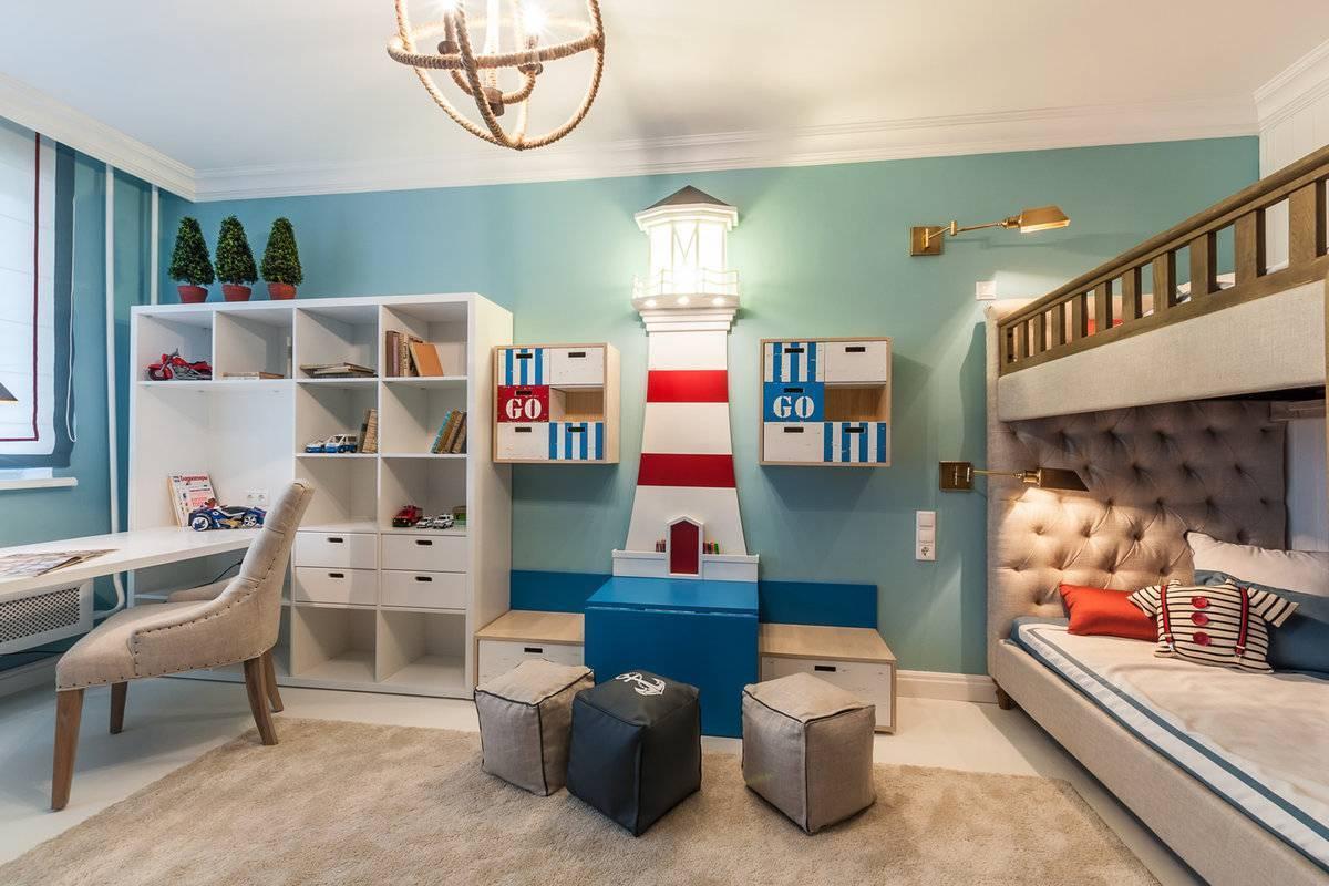 Дизайн комнаты для мальчика: идеи, мебель, потолки, обои