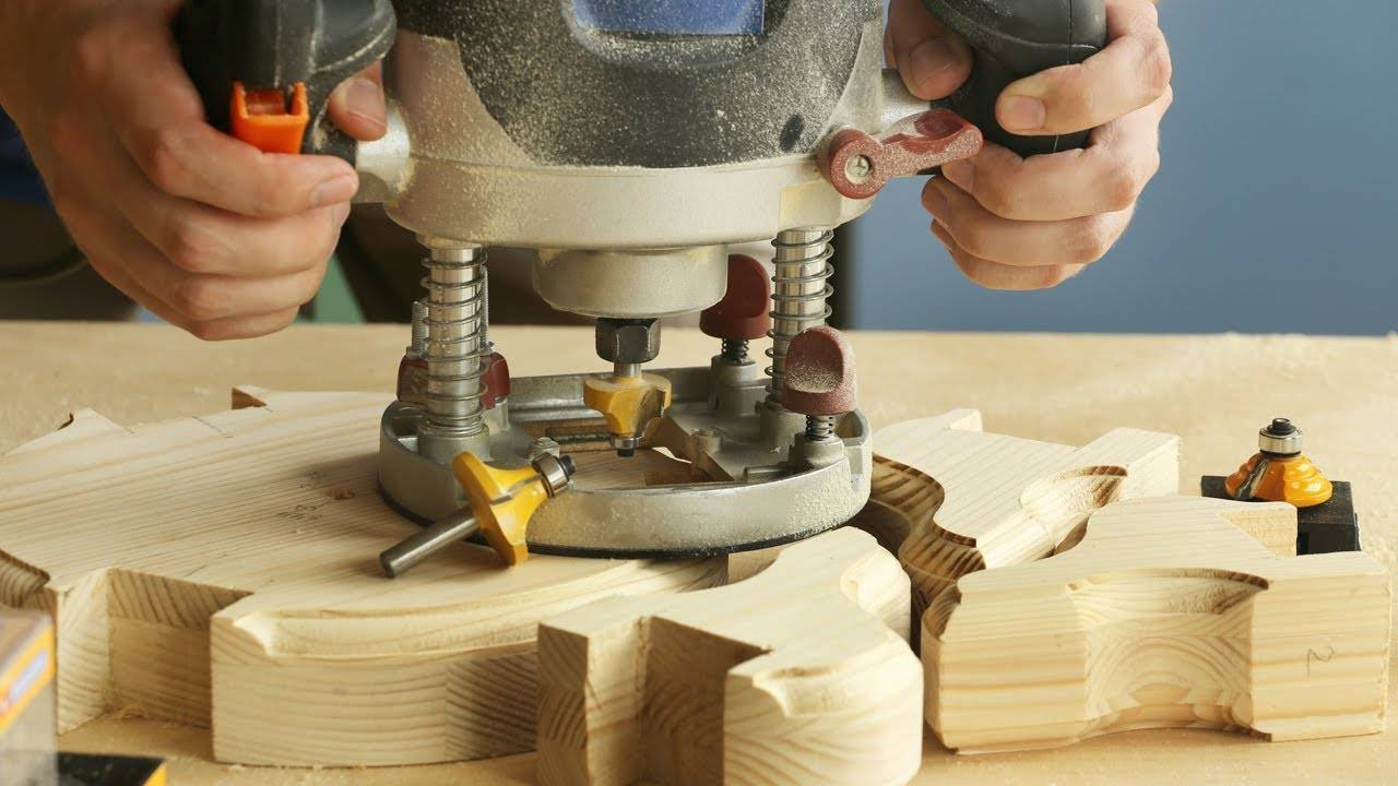 Основные правила работы фрезером по дереву для начинающих мастеров