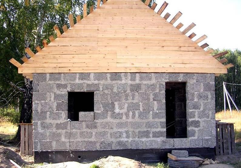 Строительство домов из пеноблоков своими руками - инструкция с фото и видео