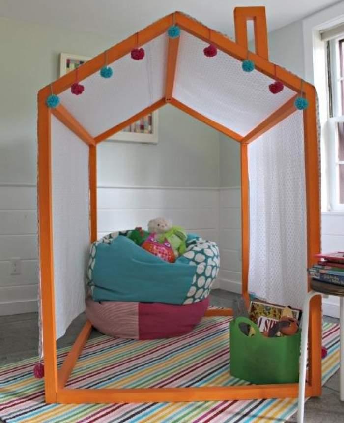 Домик для детей своими руками. фото. складной домик для детей