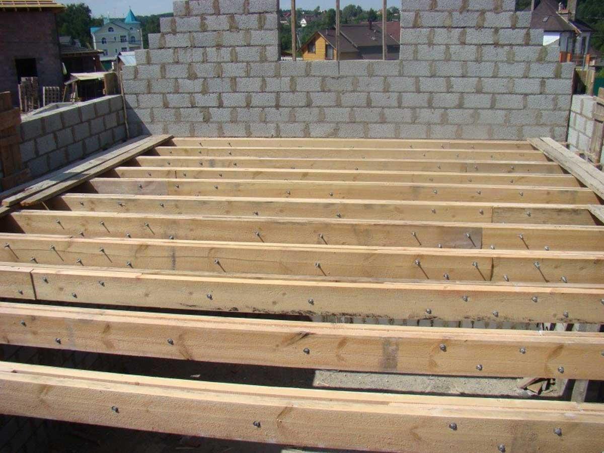 Межэтажные перекрытия при строительстве домов: устройство перекрытий по деревянным балкам, железобетонных и безбалочных перекрытий