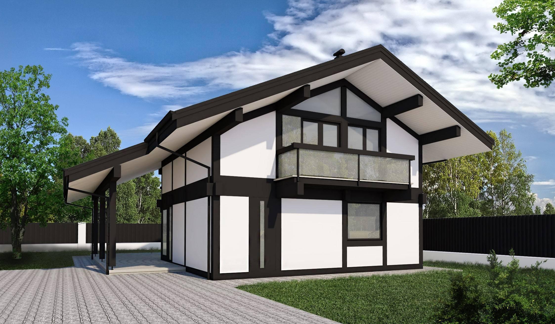 Дома в стиле фахверк, оформление, фото – rehouz