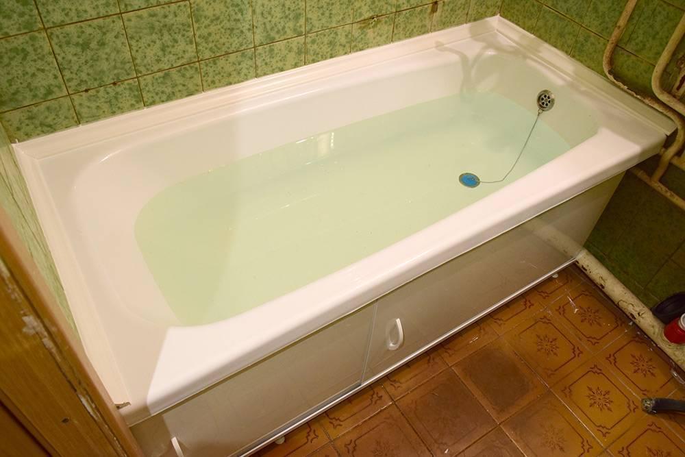 Как установить акриловый вкладыш в ванную. реставрация ванны акриловым вкладышем.