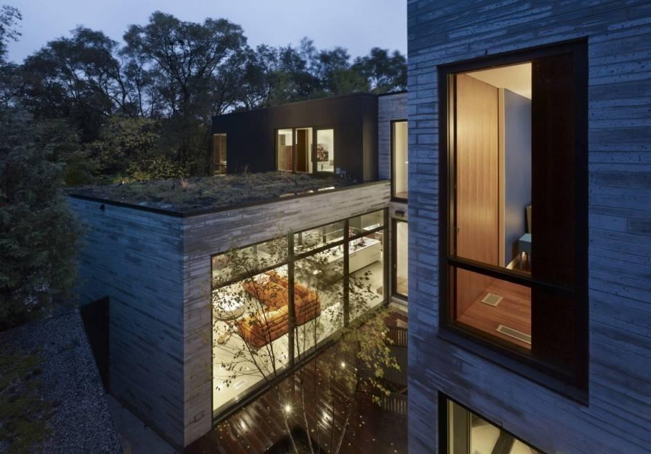 Стеклянные дома с деревянным каркасом. стеклянные дома — особенности и преимущества конструкции современные дома из стекла