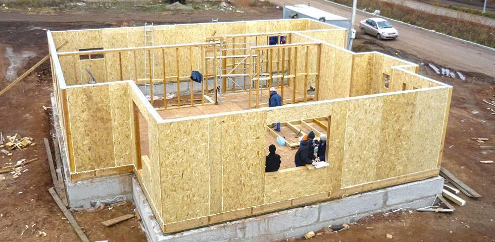 Особенности строительства домов из сип панелей своими руками