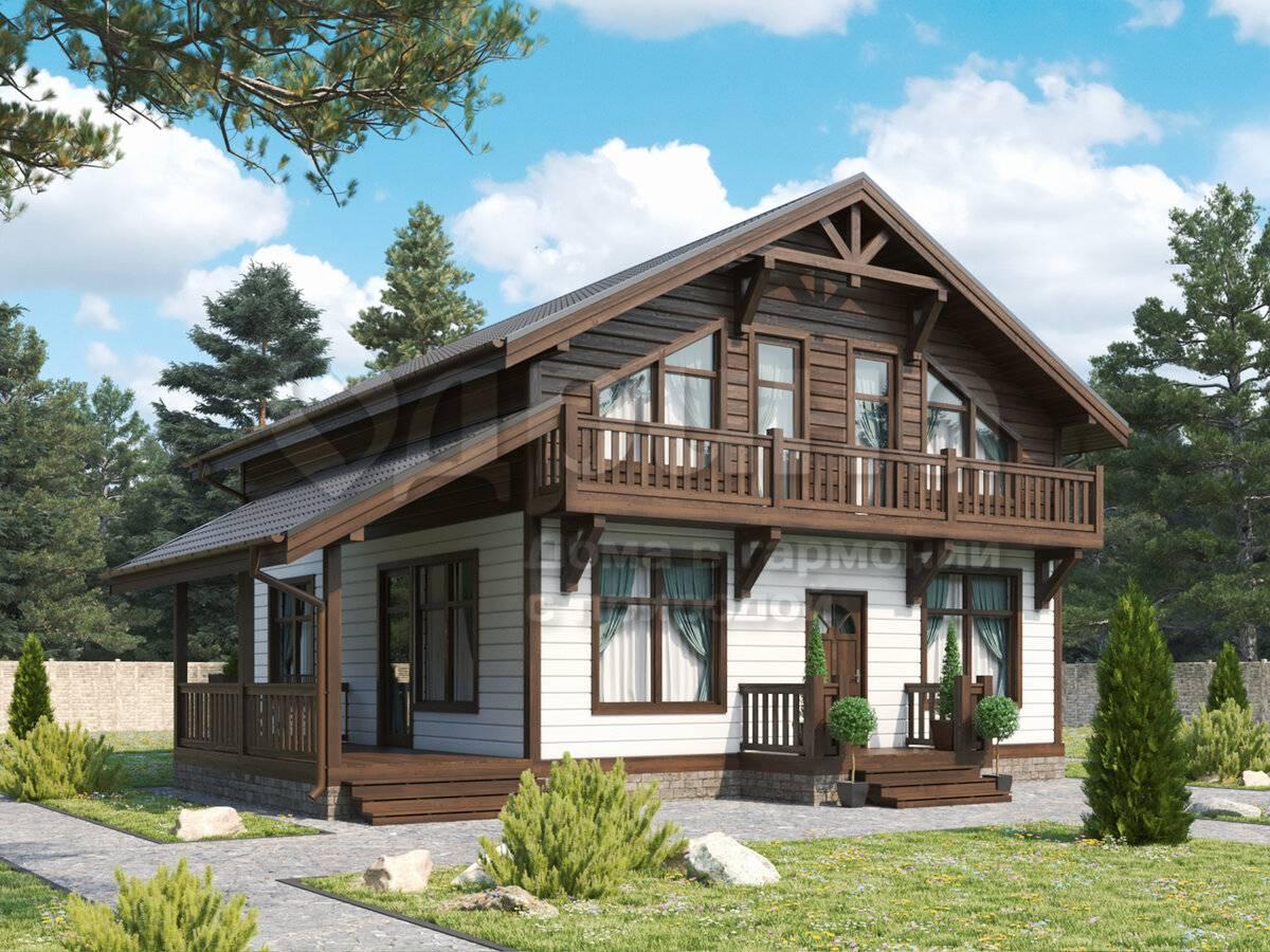 Каркасный дом шале: проекты одноэтажных домов в стиле шале