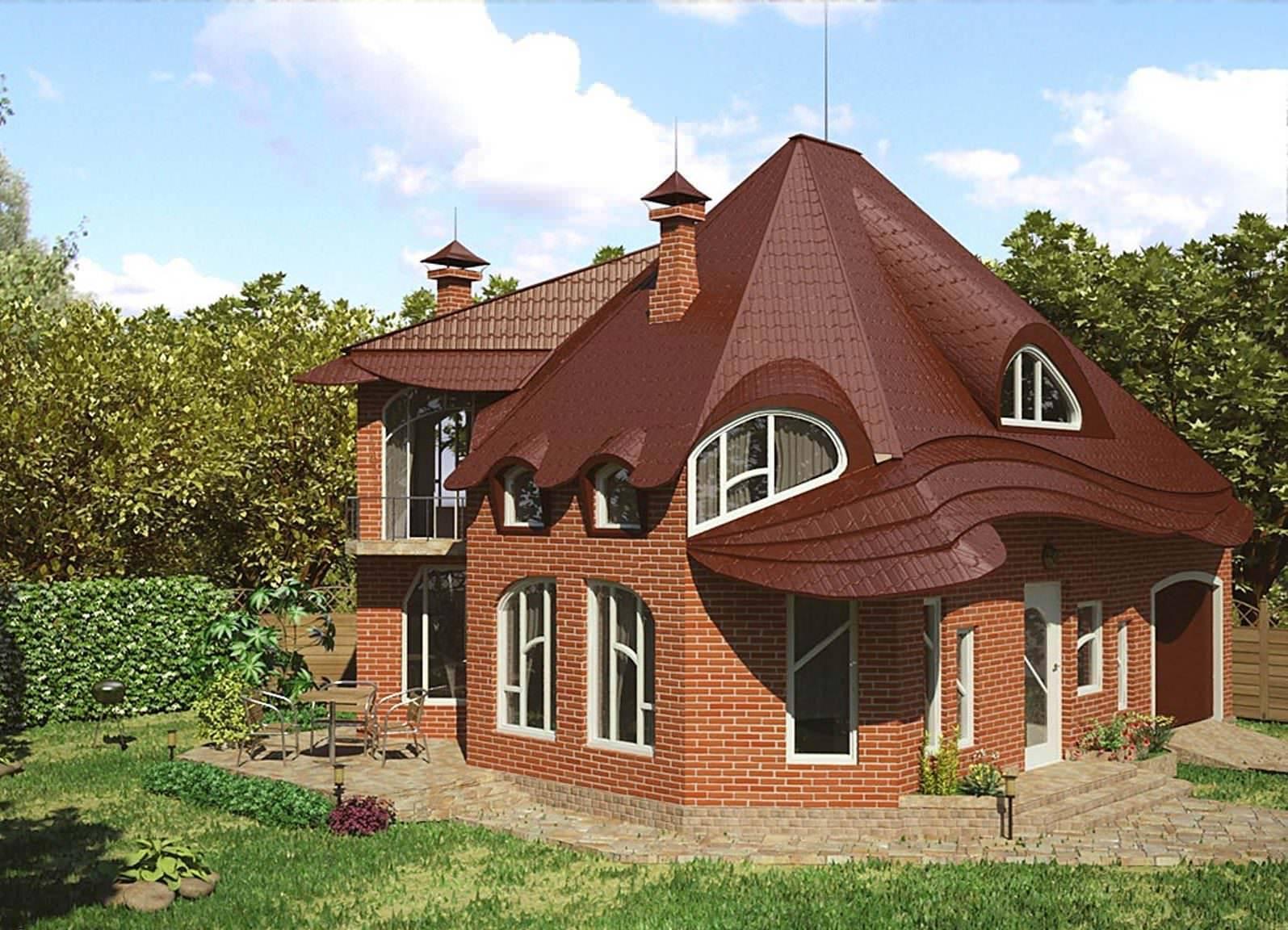 Постройка кирпичного дома своими руками