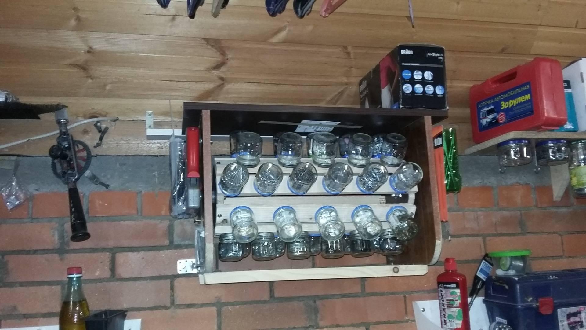 Самодельные приспособления для гаража , для хранения инструмента в гараже. самодельные приспособления для домашней мастерской.