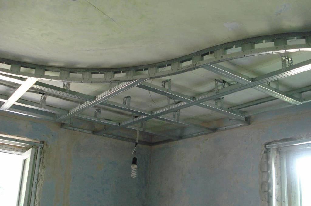 Двухуровневые потолки: 115 фото подробной инструкции для постройки сложных конструкций