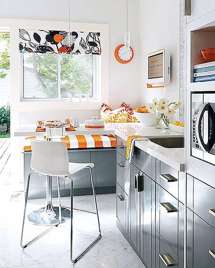 Секреты создания красивого дизайна маленькой кухни