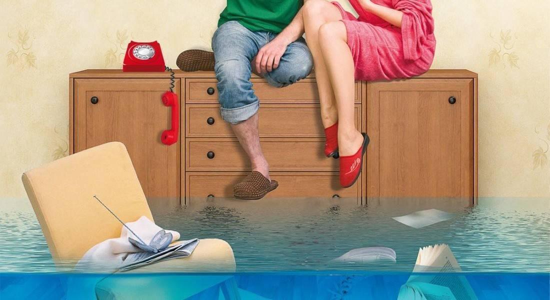 Потоп в квартире - сверху затопили соседи что делать. затопил соседа снизу сам - как отмазаться