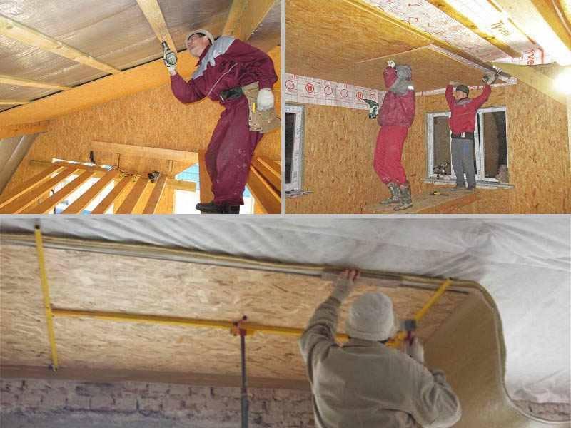 Монтаж osb на стены - особенности работы, советы от мастеров по выполнению крепления