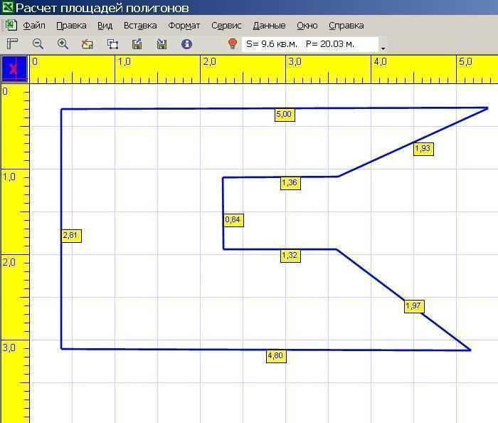 Как рассчитать площадь земельного участка