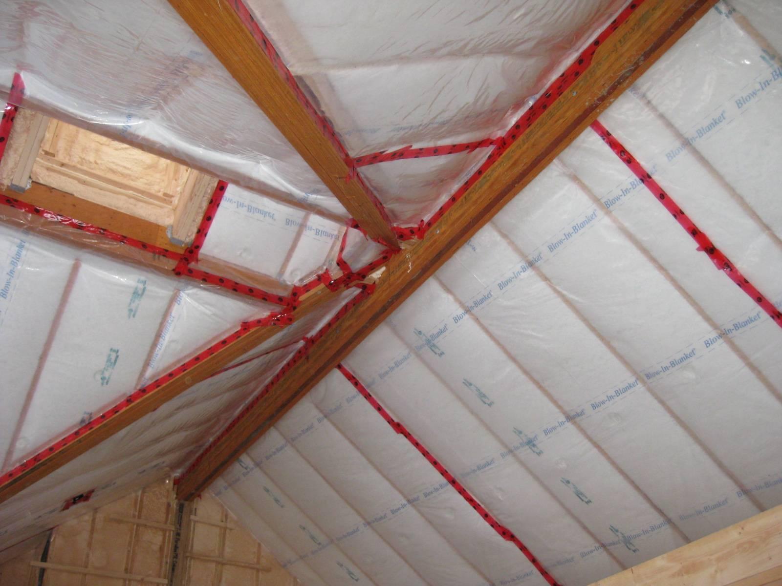 Пароизоляция для потолка в деревянном перекрытии — какую выбрать, как правильно сделать в деревянном доме, какая пароизоляция лучше, как работает, нужна ли