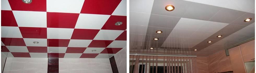 Монтаж и стоимость кассетного подвесного потолка